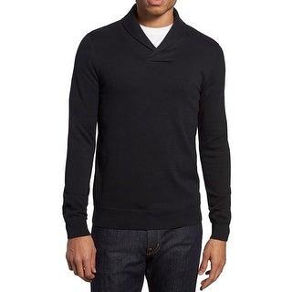 THE RAIL NORDSTROM NEW Black Mens Size 2XL V-Neck Long Sleeve Sweater