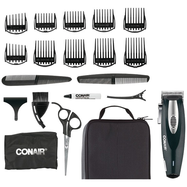 Conair Hc1100R 20-Piece Li-Ion Haircut Kit
