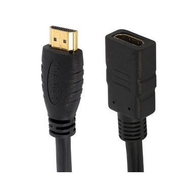 Silverback E4 HDMI Extension Cable, 6 ft  4K, High Speed w/Ethernet, ARC,  3D, Male to Female