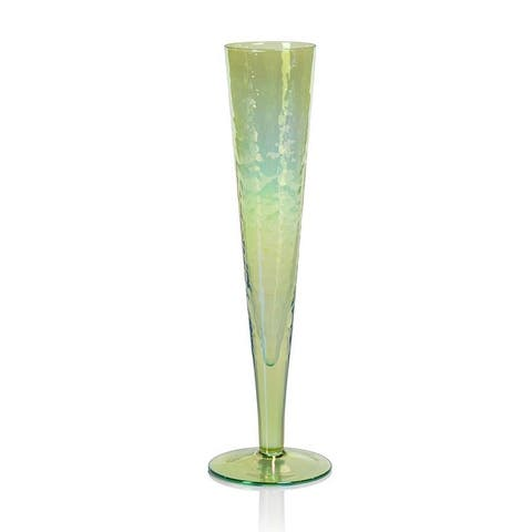 Kandi Slim Champagne Flutes, Set of 4