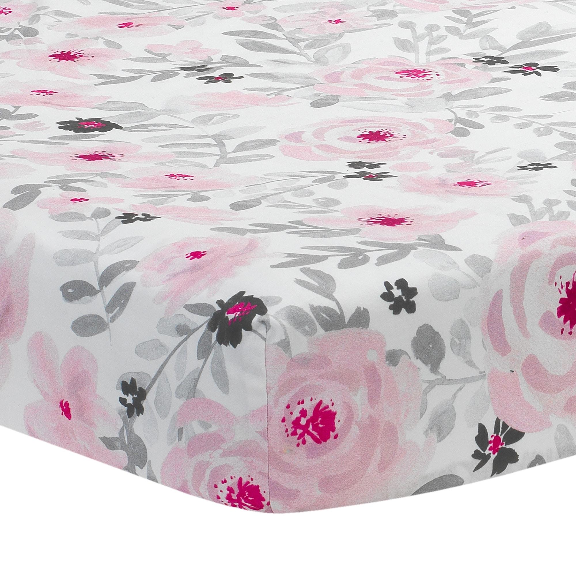 Bedtime Originals Blossom Pink Gray