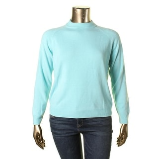 Karen Scott Womens Long Sleeves Mock Turtleneck Pullover Sweater
