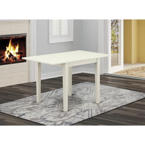 """Norden Rectangular Table 30""""X48"""" With 2 Drop Leaves - (Finish Table Option Available)"""