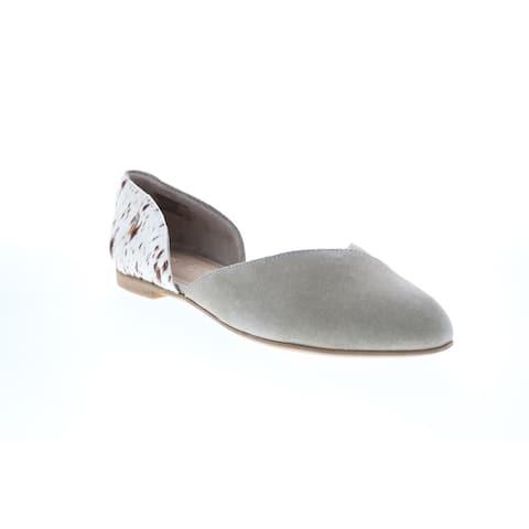 Toms Julie D'Orsay Cobblestone Womens Loafer Flats