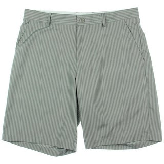 Greg Norman Mens Quick Dry Striped Casual Shorts - 40