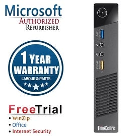 Refurbished Lenovo ThinkCentre M73 Tiny Intel Core I3 4130T 2.9G 4G DDR3 250G Win 7 Pro 1 Year Warranty