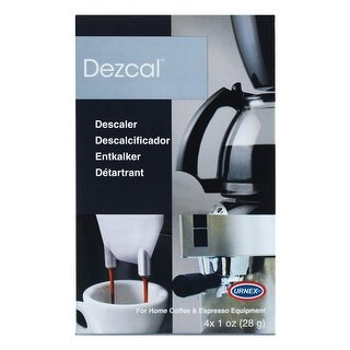 Urnex Dezcal Citric Acid Based Coffee and Espresso Machine Descaling Powder