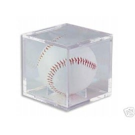"BallQube Baseball Display Case/Holder ""Grand Stand"" - Case of 36"