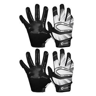 Cutters Gloves REV Pro Receiver Glove (Black, 2 Pairs) - Black