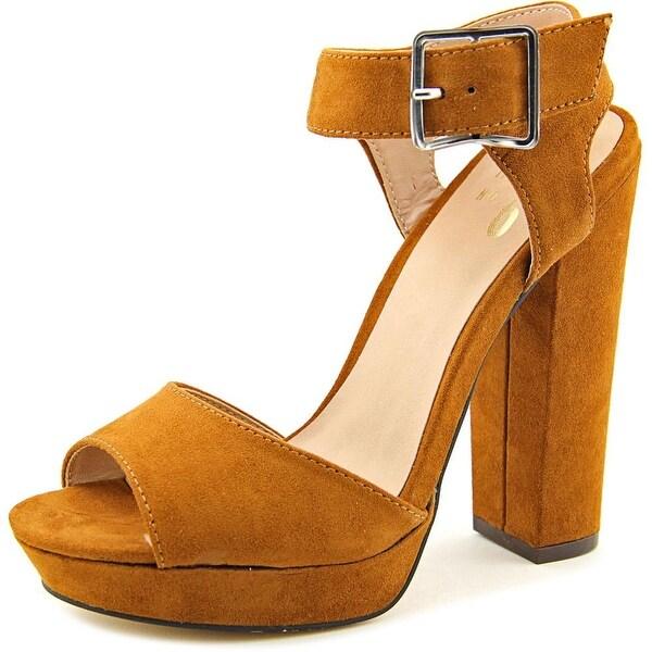 Shop Mix No 6 Yenia Open Toe Synthetic Platform Heel - Free Shipping ... 70c248b5f255