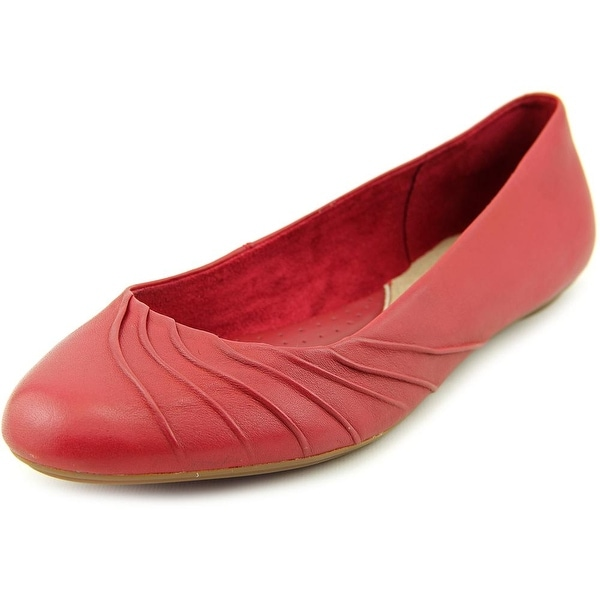 Hush Puppies Zella Chaste Women Round Toe Leather Flats