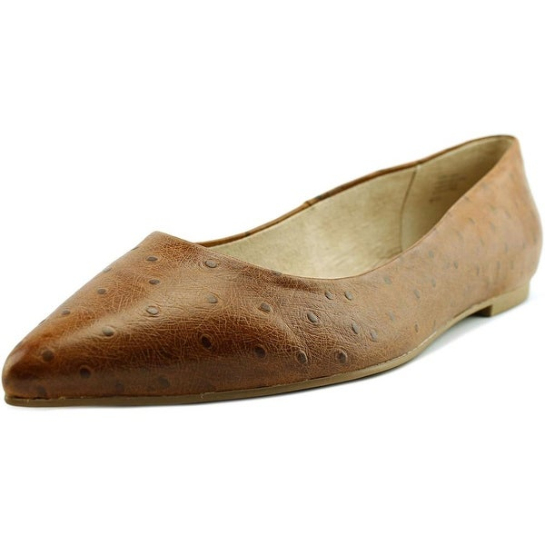 Seychelles Well Known Pointed Toe Leather Flats
