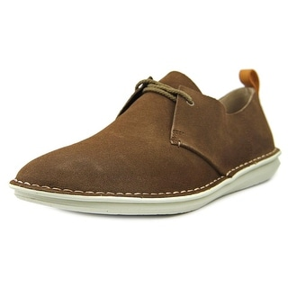 Clarks Tamho Edge Men Round Toe Suede Brown Oxford