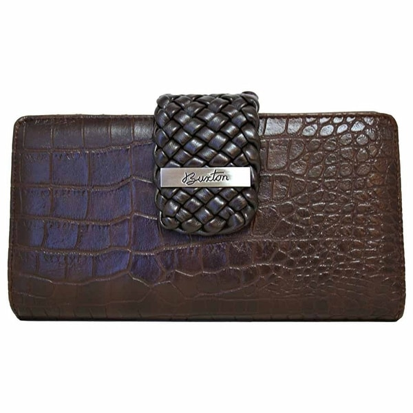 Buxton Women Everglades Superwallet - Brown