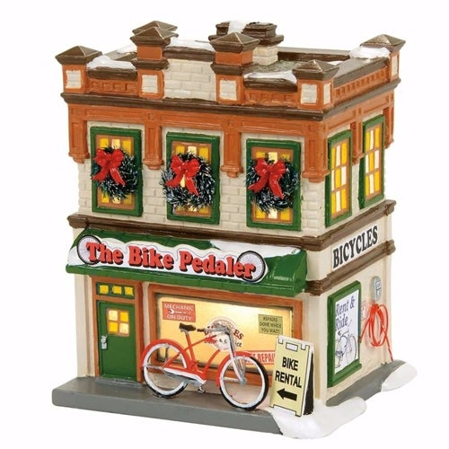 Department 56 - The Bike Pedaler