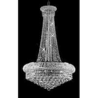 Swarovski Crystal Trimmed French Empire Chandelier Lighting