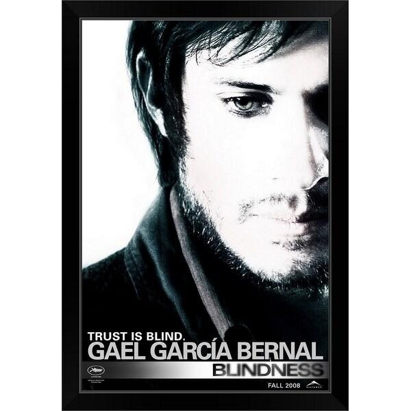 """""""Blindness - Movie Poster"""" Black Framed Print"""
