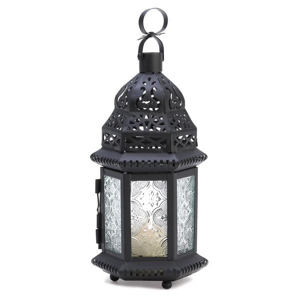 Clear Glass Moroccan Lantern