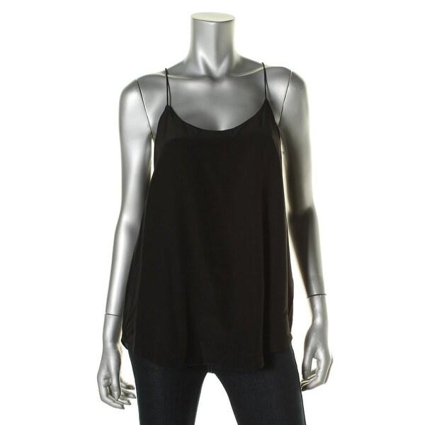 Lauren Ralph Lauren Womens Casual Top Silk Lined