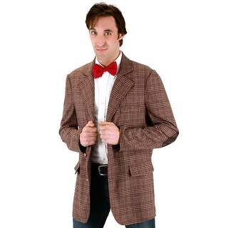 Elope Doctor Who 11th Doctor Adult Costume (L/XL) - Brown - Large/X-Large