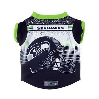 Seattle Seahawks Pet Performance Tee Shirt Size S