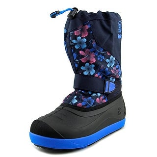 Kamik Skiland2 Youth Round Toe Synthetic Blue Snow Boot