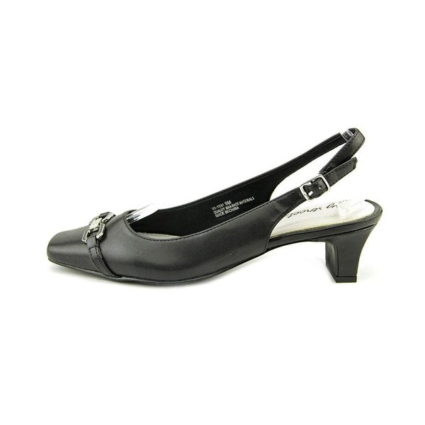 Easy Street Womens amelia Closed Toe Ankle Strap Classic Pumps