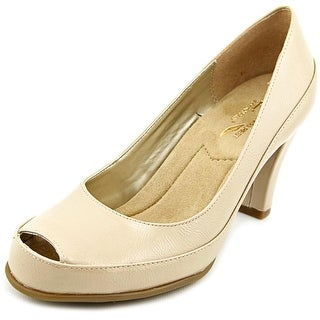 A2 By Aerosoles Big Ben  W Peep-Toe Synthetic  Heels
