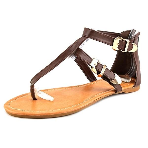 Cape Robbin MAG-TZ-1 Women Open-Toe Synthetic Slingback Sandal