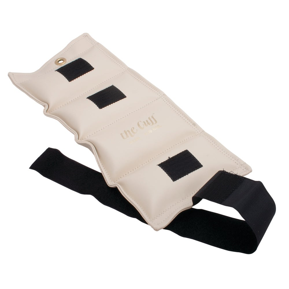 The Cuff® Deluxe Ankle and Wrist Weight - 9 lb - Parchment