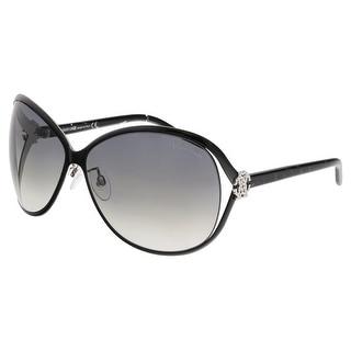 Roberto Cavalli RC500S VARISCITE 05B Black Butterfly Sunglasses