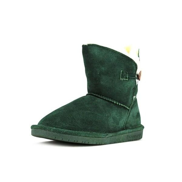 Bearpaw Rosie Women Round Toe Suede Green Winter Boot