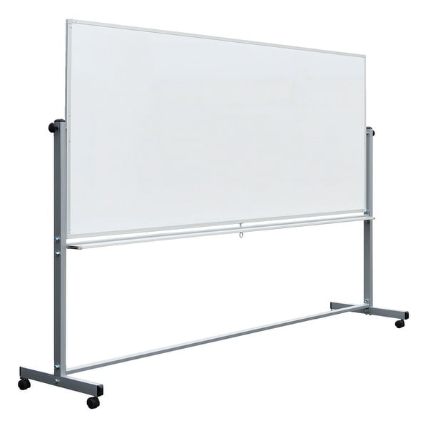 """Shop OF-MB9640WW - Offex 96"""" x 40"""" Double - Sided ..."""