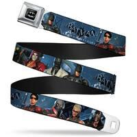Batman Full Color Black Silver Black Batman Arkham Origins Batman & Seatbelt Belt