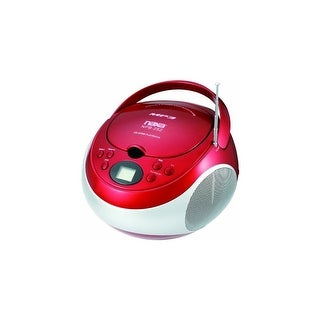 Naxa NAXNPB252RDR Portable Cd/mp3 Player With AM FM Stereo