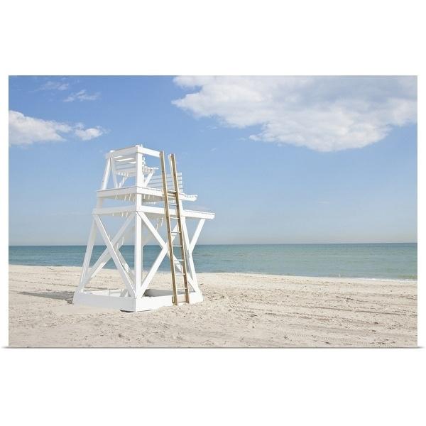 """Lifeguard Chair"" Poster Print"