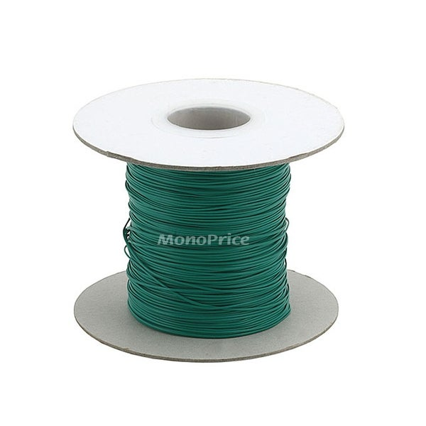 Monoprice Wire Cable Tie, 290 meters - Green