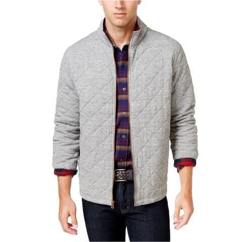 Weatherproof Mens Vintage Plaid Lined Quilted Jacket