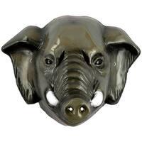Elephant Full Costume Mask Child - Grey