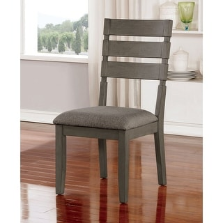 Link to The Gray Barn Park House Transitional Grey Side Chairs (Set of 2) Similar Items in Dining Room & Bar Furniture