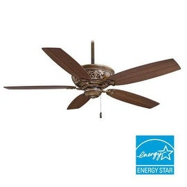 "MinkaAire Classica 54"" 5 Blade Energy Star Indoor Ceiling Fan with Blades Included"