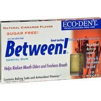 Eco-Dent - Between Cinnamon Dental Gum ( 12 - 12 CT)