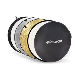 "Polaroid Pro Studio 22"" 5-In-1 Collapsible Circular Reflector Disc"
