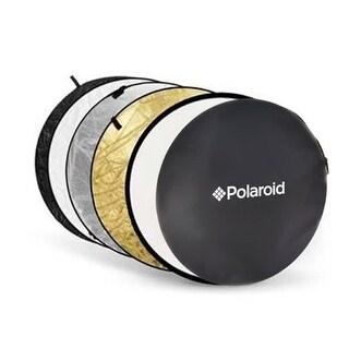"Polaroid Pro Studio 32"" 5-In-1 Collapsible Circular Reflector Disc"