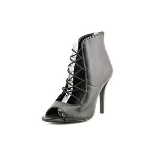 Mia Vienna Open-Toe Synthetic Ankle Boot