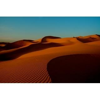 Desert Sand Dunes Canvas Wall Art Photograph