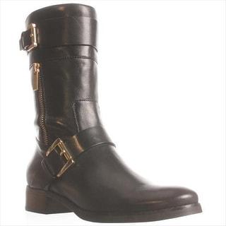 MICHAEL Michael Kors Gansevoort Mid-Calf Boots, Black