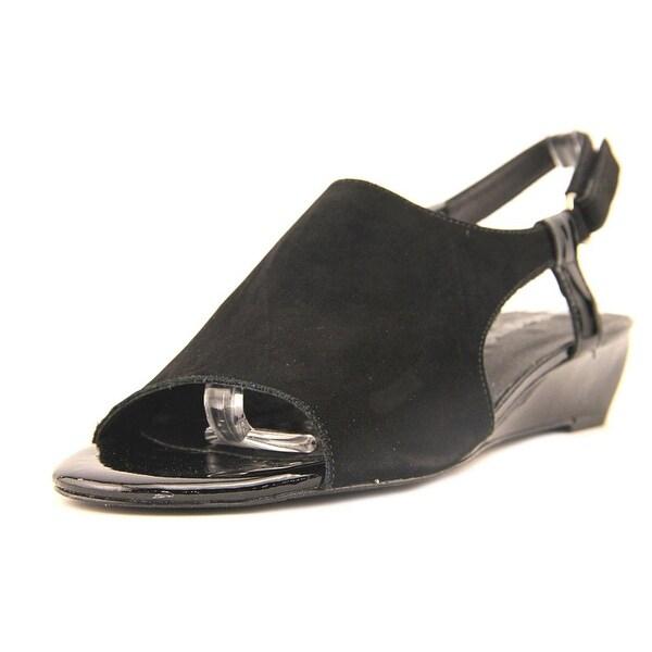Walking Cradles Daphne Black Sandals