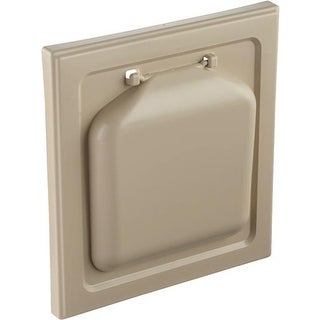 "P-tec Products, Inc. 4"" Tan No Pest Vent Hood NPWRT Unit: EACH"