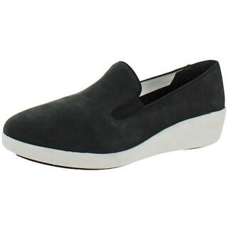 FitFlop Women's F Pop Skate Slip On Skater Sneaker Loafers